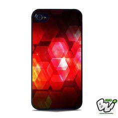 Abstract Hexagonal iPhone SE Case