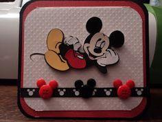 Cricut Disney card