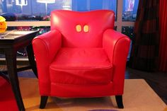 Chair in Mickey Mouse Penthouse