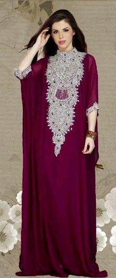 The free flowing kaftan dresses for women Kaftan Style, Caftan Dress, Dress Skirt, Silk Kaftan, Gown Dress, Islamic Fashion, Muslim Fashion, Modest Fashion, Fashion Dresses