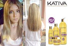 Θεϊκά μαλλιά με τις σειρές περιποίησης Kativa Natural. Η σειρά Kativa Sweet Camomile είναι ένα μείγμα από εκχύλισμα χαμομηλιού και μέλι, το οποίο αποκαθιστά το προστατευτικό στρώμα της τρίχας βοηθώντας να διατηρηθεί το ξανθό χρώμα στα μαλλιά ενώ ταυτόχρονα τα προστατεύει από την καθημερινότητα. Εχει σχεδιαστεί για να δώσει περισσότερη φωτεινότητα και φως στα ξανθά μαλλιά και να ενισχύσει κάθε ίνα της τρίχας από το πρώτο λούσιμο.