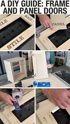 Frame-and-panel doors add an attractive, professional look to any project. You might think you need a lot of fancy woodworking tools and techniques to create them, but this month in Kreg Plus, we'll show you how you can make them using DIY tools.