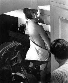 filming 'Inside Daisy Clover'