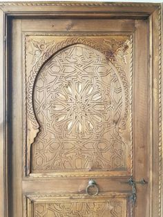Morocco Shabby Chic Photo Picture Frame Rustic Exotic Moroccan Wood Design Gift