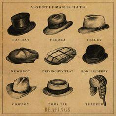 Gentleman's hats