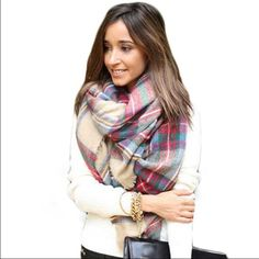 NWT Classic Tartan Plaid Blanket Scarf Brand new. Same day or next day shipping. No trades and no holds. Accessories Scarves & Wraps