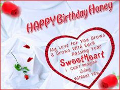 Romantic birthday wishes and messages for your wife wonde. - Happy birthday images For Women My love Birthday Wishes For Sweetheart, Birthday Wishes For Lover, Romantic Birthday Wishes, Birthday Wishes For Girlfriend, Birthday Wish For Husband, Happy Birthday Wishes Images, Birthday Wishes For Myself, Sweet Birthday Quotes, Happy Birthday Honey