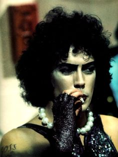 rocky horror picture show, Tim Curry, and frank n furter image Rocky Horror Show, Tim Curry Rocky Horror, The Rocky Horror Picture Show, Anti Oxidant Foods, Horror Movies, Movies And Tv Shows, Pictures, Shock Treatment, Musicals