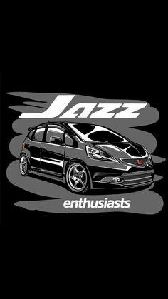 2016 Honda Fit, Honda Vtec, Car Logo Design, Jdm Wallpaper, Car Tattoos, Japanese Domestic Market, Honda Jazz, Car Wallpapers, Wallpapers Android