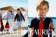 Ralph Lauren introduces boys children's clothing as well as girls