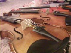 Just a few violin angles