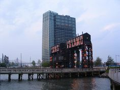 Gantry Plaza State Park, Hunters Point, Long Island City, Queens, NY.