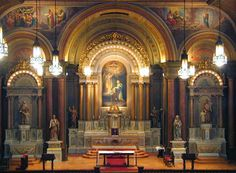 Latin Mass every Friday night at 8:00pm and First Friday at 7:00pm  13th St. Cincinnati, Ohio