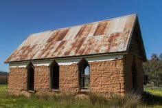 Abandoned mud brick church, Central West NSW, by John Cliff. Abandoned Churches, Old Churches, Cool Photos, My Photos, Country Lifestyle, Old Bricks, Place Of Worship, Ghost Towns, Cliff