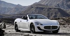 Maserati GranCabrio blanco - Cochesdelujo | Las Mejores Marcas Y Los Mejores Coches De Lujo