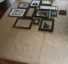 The Art of hanging an art wall - perhaps try with different mirrors?