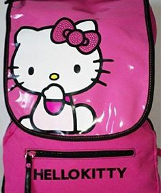 Zaino Scuola Estensibile Medium Sdoppiabile Hello Kitty – Italia Mania Store