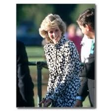 July 28, 1985:  Princess Diana attends the Cartier International Polo Match at the Guards Polo Club in Windsor