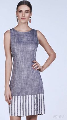 sleeveless grey dress