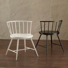 @Overstock - Truman Low Back Windsor Classic Side Chairs (Set of 2) - The Truman features a round-tenoned low back with gloss finish on the hardwood frame. Perfect for the casual dining space, this Windsor Classic side chair set provides a contemporary appeal.  http://www.overstock.com/Home-Garden/Truman-Low-Back-Windsor-Classic-Side-Chairs-Set-of-2/9620961/product.html?CID=214117 $129.99