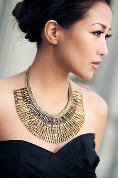 Wendy Nguyen - The creator of the fashion blog Wendy's Lookbook.. More importantly, I love the necklace.