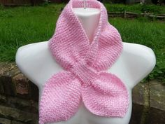 Hand knitted vintage retro style acsot keyhole bow-tie scarf pink mix on eBid United Kingdom Baby Knitting, Retro Fashion, Retro Vintage, Knit Crochet, Bows, Retro Style, Pink, Surfers, September