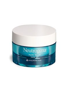 Neutrogena Hydro Boost Water Gel The Super Soaker of gels gives skin a dewiness we haven't seen since high school. The source of its magic is a high-tech silicone polymer that stays on the surface and traps moisture inside—without clogging pores.