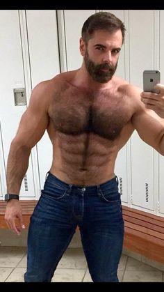 muscle papa ours porno plus la taille nue de modélisation