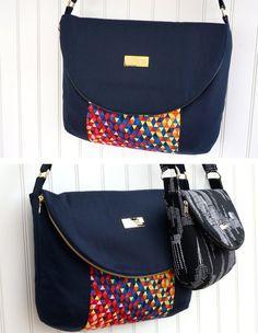 Le sac de Manhattan  patron de couture  2 tailles par EmmalineBags