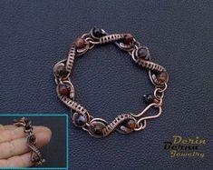 Wire wrapped agate copper women bracelet,wire wrapped women jewelry,Copper wire Wrapping Bracelet,Co Wire Wrapped Bracelet, Copper Bracelet, Copper Jewelry, Wire Jewelry, Jewelery, Handmade Jewelry, Copper Wire, Copper Cuff, Wire Earrings