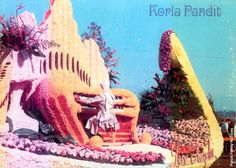Korla at the Rose Parade