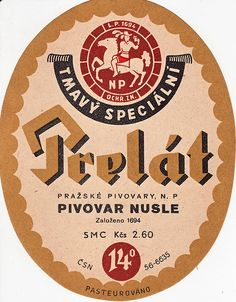 Label by wpgbuzz, Czech Beer label