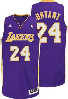 Kobe Bryant Purple adidas Revolution 30 Swingman Los Angeles Lakers Jersey  Lakers Team f8859869f