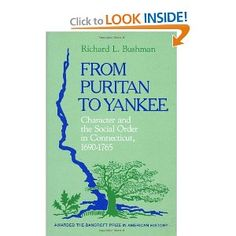 from puritan to yankee thesis