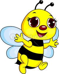 Illustration of Bee digital collage vector art, clipart and stock vectors. Art Drawings For Kids, Outline Drawings, Drawing For Kids, Art For Kids, Bee Clipart, Cute Bee, Car Bumper Stickers, Bee Crafts, Animal Coloring Pages