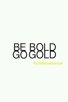 Day 4! Neuroblastoma #gogold #begold
