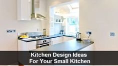 KCK kitchen remodeling tip: Kitchen Design Ideas For Your Small Kitchen Since the kitchen is the gathering place in the home and the hub of family activity, it is little wonder that kitchen remodeling is the most popular home improvement project each year. A remodel may be prompted by a desire for an updated design, wanting a kitchen that functions better for the family,or both.
