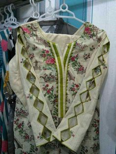 Suit neck design - All About Neck Designs For Suits, Neckline Designs, Sleeves Designs For Dresses, Dress Neck Designs, Stylish Dress Designs, Sleeve Designs, Blouse Designs, Salwar Designs, Kurta Designs Women