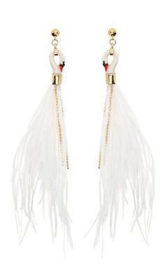 Regilla ⚜ Nach swan earrings