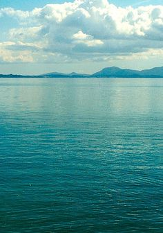 Sky & ocean.
