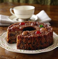 Easy Fruitcake made with Spice Cake Mix Recipe