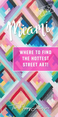 The hottest street art of Miami! At the Wynwood Walls, you will find all those colorful street art walls from Instagram! The best street art in Wynwood!