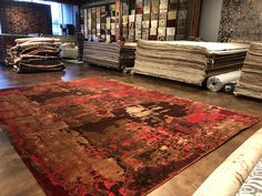 Handwoven modern rugs and oriental rugs. Contemporary Rugs, Modern Rugs, Oriental Carpet, Oriental Rugs, Istanbul, Persian Carpet, Persian Rug, Living Room Modern, Living Spaces