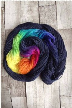 Hand dyed sparkle sock yarn/4 ply/'midsummer nights