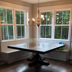 Farmhouse table trestle farm house Ideas for 2019 Square Dining Room Table, Dining Table With Bench, Pedestal Dining Table, Trestle Table, Square Tables, Trestle Legs, Booth Dining Table, Corner Dining Table, Dining Rooms