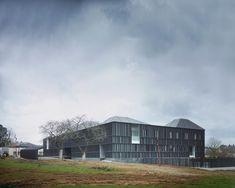 Centro de Saúde Nozay / a+ samueldelmas   ArchDaily Brasil