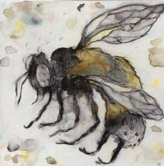 Darryl Joel Berger - Colony Collapse Disorder - mixed media