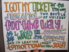 Cups Lyric Drawing by TaylorandEmilysEtsy on Etsy, $5.00