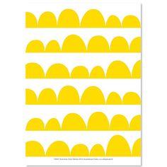 Leikki juliste, keltainen