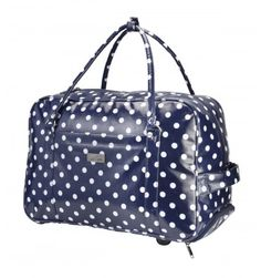 Cabin Max Sorrento Carry On hand luggage Bag Multifunctional Trolley or Holdall (Polka Dot) Hand Luggage Bag, Best Luggage, Carry On Packing, Carry On Bag, Before You Fly, Hospital Bag, Cath Kidston, Sorrento